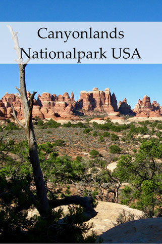 USA Reise: Canyonlands Nationalpark mit Island in the Sky und Needles.