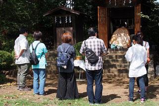 天神社の月次祭です