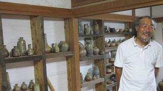 望月工房宮島(月の庭窯) 木暮隆之氏 望月定子美術館