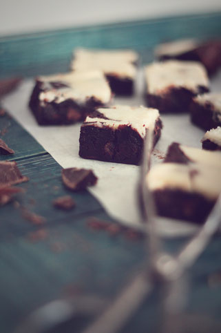 Fudge Cheese Brownies