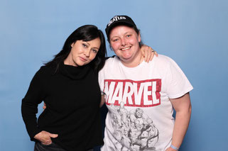 Photo op with Shannen Doherty at Dutch Comic Con 2019 Spring