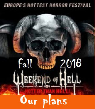Our plans for Weekend of Hell fall 2018
