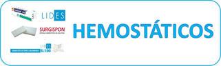 hemostáticos,surgispon,esponja, gasa,satín,quirofano, hemostática,curiocin,medica besser