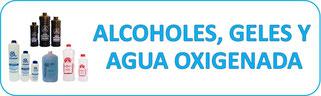 alcohol,gel para ultrasonido,agua oxigenada,farmeva,cañitas,medica besser