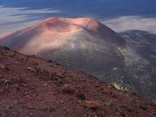 Tolbachik volcano: cones of the Northern Breakthrough