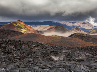 The lava fields of Tolbachik