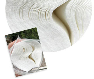 Disposable mask sheet(使い捨てマスクシート)