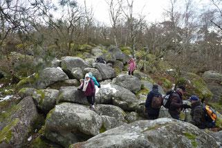 Du haut de ces rocs on contemple des siècles