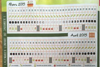 Calendrier lunaire jardin 2016 a imprimer calendar for Calendrier lunaire jardin janvier 2015
