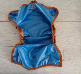couche lavable bi best mopetitou te2 ecomome : face intérieure