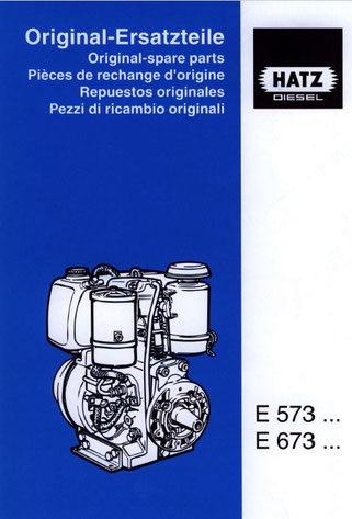 Ersatzteilliste E573, E673