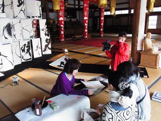 渡部裕子 hirokowatanabe 玄照寺 境内アート