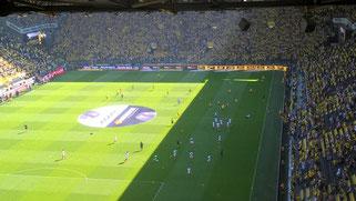 Borussia Dortmund - 1. FSV Mainz 05 am 26. August 2016