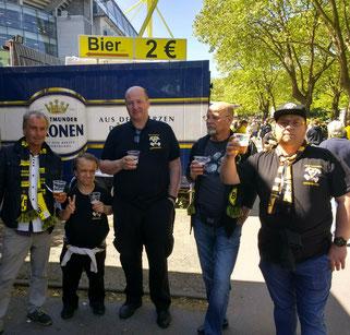 BVB - Mainz 05 am 05. Mai 2018