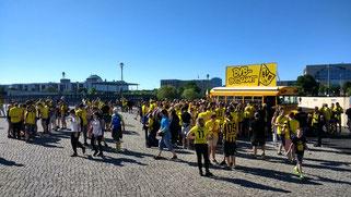 DFB Pokalfinale Eintracht Frankfurt - Borussia Dortmund am 27. Maii 2017
