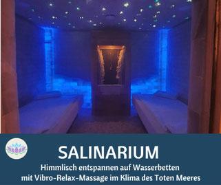 Salzgrotte SALINUM Hagen, Salinarium mit Wasserbetten, www.salzgrotte-hagen.de
