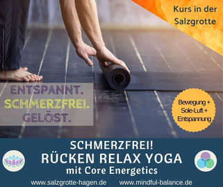 Yoga, Pilates, Faszien, www.salzgrotte-hagen.de, www.mindful-balance.de, Hagen