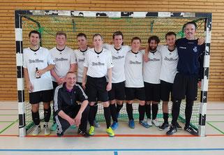 Die Futsal SG Ruhrgebiet West beim Saisonfinale am 21.05.2016 in Essen (Foto: Effing)