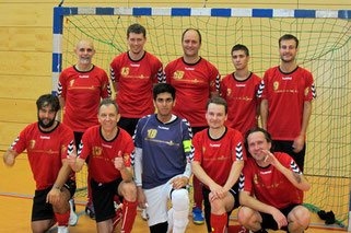 Die Futsal SG Ruhrgebiet West am 03.10.2015 in Wuppertal (Foto: Bühl)