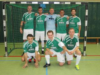 Die Futsal SG Ruhrgebiet West am 24.09.2016 in Mülheim (Foto: Bühl)