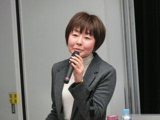 講師の江川佳代さん