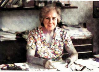 Una immagine della fondatrice dell'Associazione Rosacrociana in Italia, Olga Faella