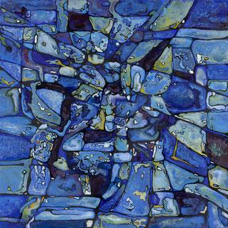 L'aquarium 100x100cm