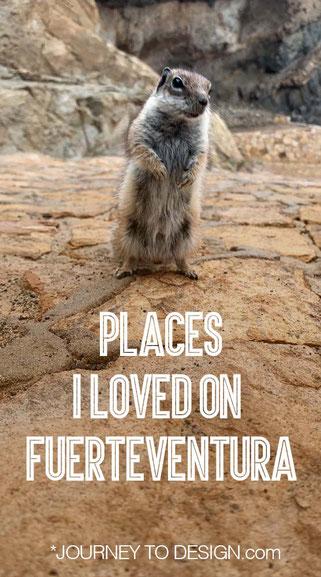 Places I loved on Fuerteventura