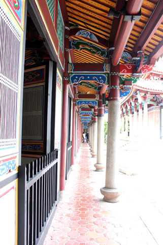 Columns at Confucius Temple