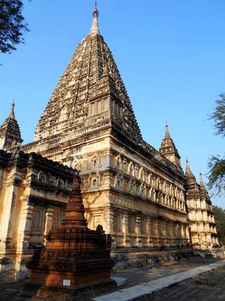 Mahabodhi temple in Bagan
