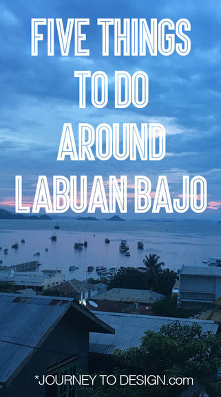 Five things to do around Labuan Bajo