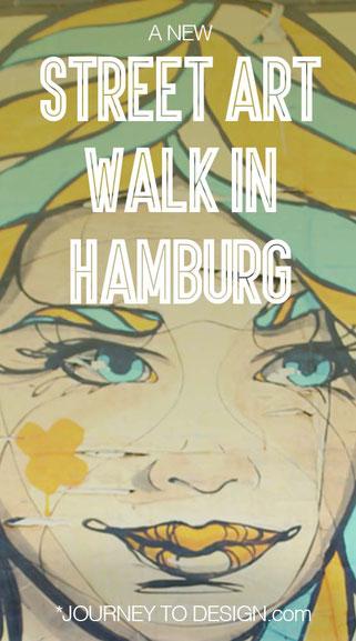 a new street art walk in Hamburg