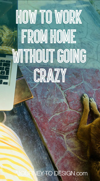 working from home without going crazy