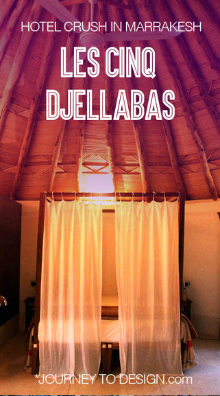 les cinq djellabas in Marrakesh