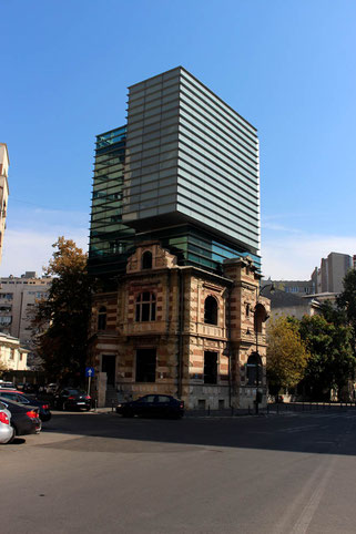 Union of Romanian Architects Building in Bucharest