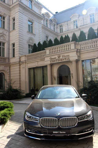 Grand Hotel Continental in Bucharest