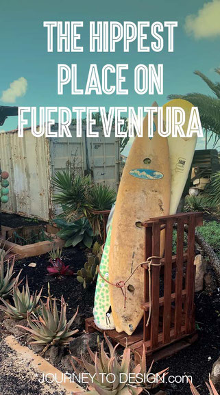 the hippest place on Fuerteventura: Lajares