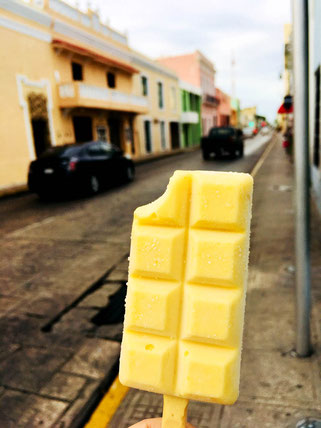 ice cream in Merida