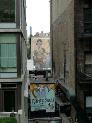 view on street art