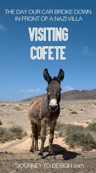 Visiting Cofete on Fuerteventura