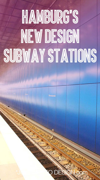 Hamburg's new design subway stations