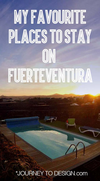 my favourite places to stay on Fuerteventura