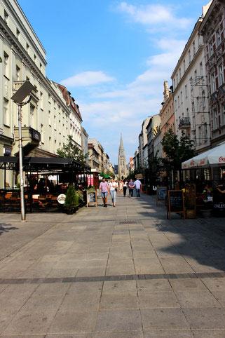 Mariacka Street in Katowice