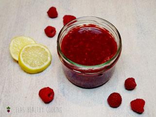 Himbeer-Erdbeer Fruchtaufstrich mit Agar Agar