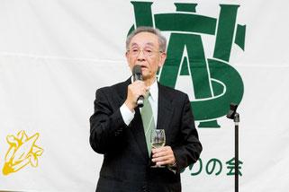 西南学院大学同窓会 岩崎文正 会長