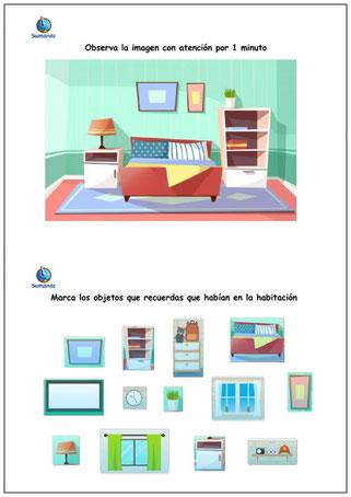 SELECCIONA LAS IMÁGENES QUE RECUERDES (Memoria visual)