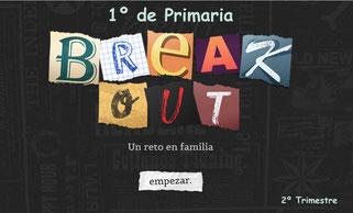 1º de Primaria- BREAKOUT (2ºTrimestre)