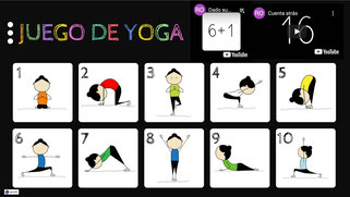 Juego de yoga