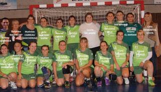 Seniors filles Championnat régional