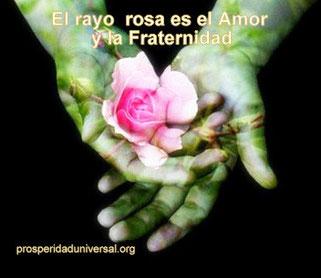 EL SILENCIO INTERIOR - EL RAYO  ROSA ES EL   AMOR Y FRATERNIDAD - PROSPERIDAD UNIVERSAL - www.prosperidaduniversal.org